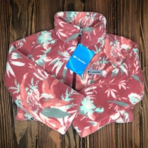 Girls Columbia Jacket Dusty Magnolia Floral NWT